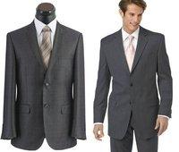 custom-made 100% Wool  JACKET 38R WITH FREE GRAY 50L 50 L FREE FAST SHIP HEM-UP & TIE