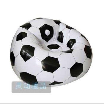 Inflatable Soccer Ball Sofa Inflatable Bag Chair