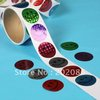 100pcs/Roll Laser Smily Stickers Promotional Gifts stickers Labels Free shipping