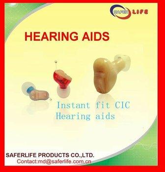 2012 New techinolgy Open Ear CIC Full digital 8 Chanels ear hearing aids instant fit