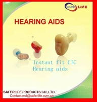 2012 New techinolgy Open Ear CIC Full digital 8 Chanels ear hearing aids instant fit