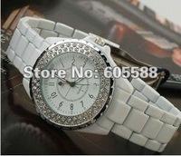 DHL Free shipping 50pcs/lot, Sinobi Crystal Jewel  Lover Watch Japan Movement Ladies Bracelets Wrist Watch Waterproof Wholesale