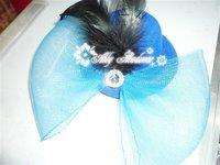 wedding party  hat  mini top hat ,handmade headwear.Free shipping 12pcs/lot 13cm