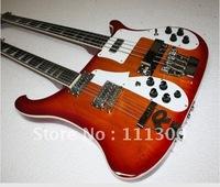 best Double Neck 4003  4  12 Strings Ebony Fretboard Electric Guitar bass