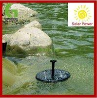 hot sale garden  Solar Power Floating Brushless Fountain Pump Kit Solar Water Pump