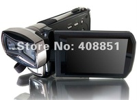 Sample 3D Video Camera Full 1080P HD Camcorder Dual CMOS Sensor 3.2 inch 3D LCD Screen HDMI Output