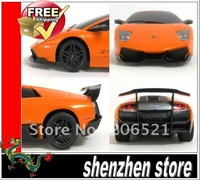 Murcielago Lp 670-4 SV yellow/Orange scale 1:24 rc car remote control with Box free ship airmail HK