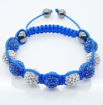 Free Shipping,Handmade Shamballa Bracelet,Fashion Jewelry 10mm Shamballa CZ Disco Ball Beads Bracelet Jewellery
