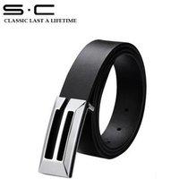 S.C Free Shipping + Best Sell + Western Belt + Man Western Belt +  Box Buckle Belt PY0061-3