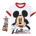 2012  for summer and spring hot sell Free shipping  Hooded cartoon t-shirt mickey children's T-shirt for boy