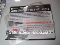 "2pc/lot free shipping Wide-angle Rear Window Fresnel Lens(8""*10"")"