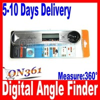 rofessional Digital Protractor Angle Finder with LCD display  ( Measuring range 360 degree , resolution 0.05 degree )