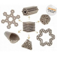 5mm  Mini Magnetic Balls Magnets Spheres Puzzle 216pcs Cube Toy Bucky + Gift Box
