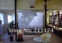 Self adhesive holographic film 6 square meter(4*1.5m) colour type transparnet, grey,dark grey, white optional, Free Shipping!!!