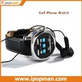 5pcs/lot Stainless Steel Touch Screen Quad Band Bluetooth JAVA Wrist Cellphone Watch Phone K650 with Camera, DHL Free Shipping
