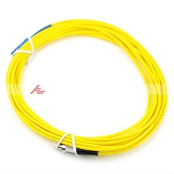 Wholsale 3.0mm FC-PC/SC-PC Singlemode Fiber Optic Patchcord Cable(5-Meter),Free Shipping(China (Mainland))