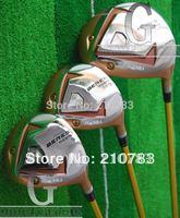 2014  Free Shipping New Golf Clubs honma MG 713 wood set.1# driver.10.loft,3/5Fairway Woods.Regular/shaft,EMS Shipping