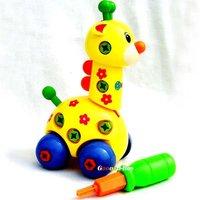 Baby Child Children Funny intellectual giraffe car toy