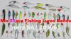 high quality mix 51pcs/set hard lures Bait fishing lure wholesale free shipping
