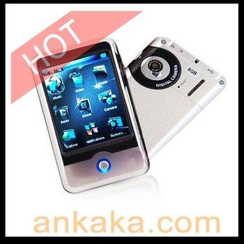 LCD Touch Screen Digital Camera FM Radio 4GB MP3 MP4 Player