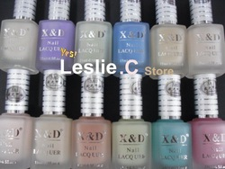 New Arrive Brand New 12 Luminous colors available Nail Polish /Nail Lacquers /Nail Art Polish Free shipping 12pcs/lot /#XDL12(China (Mainland))