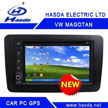 Newest Car pc windows xp system ,Volkswagen magton /Sigatar car pc ,12V car vechile computer . High Quantity ,free shipping !