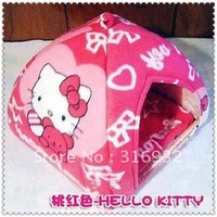 Y3 NEW arrival, Hello Kitty yurt-shaped dog bed, good quality, suitable for small pet
