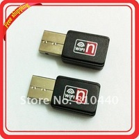 Free Shipping Mini 150M USB WiFi Wireless Network Card 802.11 n/g/b LAN Adapter 2pcs/lot Wholesale