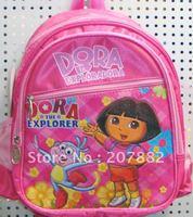 Hot Sale Dora the Explorer Backpack Schoolbag Rucksack School Backpack Cartoon School Bag Children Schoolbag A0121+Free Shipping
