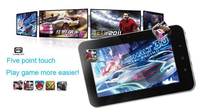 HK post freesample Gemei 7'' G2  Allwinner A10 8GB Capacitive screen HDMI 1.5GHz Camera US ...