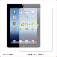 for Apple iPad 3 iPad 2 , non fingerprint Matt /Anti-Glare  transparent Screen Protector without retail pa