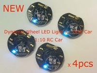 RC Car Dynamic Wheel LED Light for Drift Car (4pcs)