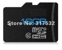 Free shipping Class 10  Real full capacity 16GB Micro sd card Transflash TF CARD