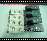 Free Shipping 2 Pcs a lot   4V210-08 Airtac Solenoid Valves ,DC24V 5 Way 2 Position Electric Solenoid Valve