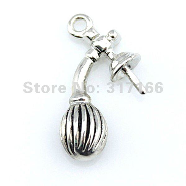 Free Shipping Fashion 3D Perfume Bottles DIY Charms( BCSMT0109 )(China (Mainland))