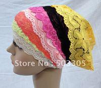 MS101506 free shipping lace inner tube hats,muslim inner hats,islamic inner caps,muslim scarf,islamic scarf,muslim hijab