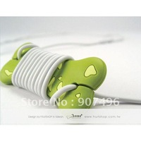 cable winder ,Fashion lovely the Dalmatians bones headphone winder,Free shipping,HOT Selling