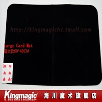 Large Card Mat(60X40CM) Professional Card Mat Magicians Matt Pad Mat Card Magic Tricks Magic Props Free Shipping