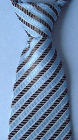 wholeale New necktie silk tie /men's tie stripe -#09(China (Mainland))