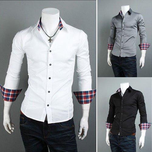 mens shirts sale luxury shirt mens lattice shirts