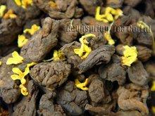 1998year Fragrant Osmanthus Lao Cha Tou Puerh 250g Old Tea Tugget 8 8oz Aged Loose pu
