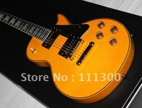 Musical instruments Custom Yellow Guitar Black iron Yellow star Electric Guitar