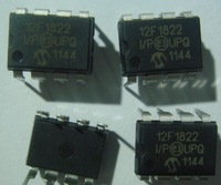 PIC12F1822-I/P MICROCHIP DIP8 8/14-Pin Flash Microcontrollers with nanoWatt XLP Technology