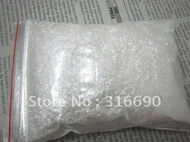 Free Shipping white Acrylic Powder Nail Glitter Powder/Glitter Dust/shining glitter powder for Nail Art/DIY decoration 30g/bag(China (Mainland))