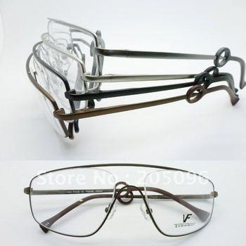Wholesale VF6402 stainless steel big bending degree no welding Conjoined full-rim prescription eyeglasses frame free shipping