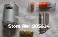 Small PCB Drill Press Drilling with 0.8/0.9/1.0/1.1/1.2/1.3/1.4/1.5mm Drill 12V