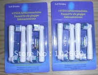 2pack=8pcs/lot toothbrush heads/electric toothbrush heads with top quality free shipping