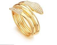 fashion jewelry bangle , 62g Heavy Unique 18k yellow gold filled Hot bangle jewelry jewelrlry bracelet bangle