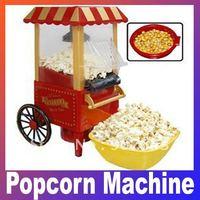 Nostalgia Electrics Vintage Hot Air Popcorn Maker /min size Popcorn Machine Free shipping