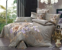 Hot Fashion New  Beautiful 100% Cotton 4pc Doona Duvet QUILT Cover Set bedding set Queen/  King size  Flower Fairies